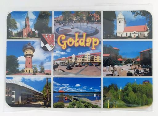 Magnes na lodówkę Gołdap i okolice