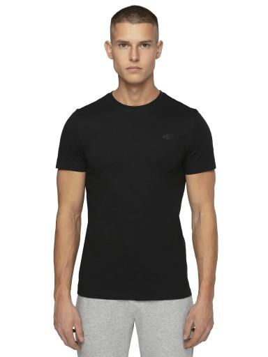 4F MĘSKA GŁADKA KOSZULKA T-SHIRT NOSH TSM003 3XL 10467984021 Odzież Męska T-shirty NY ZJLDNY-4
