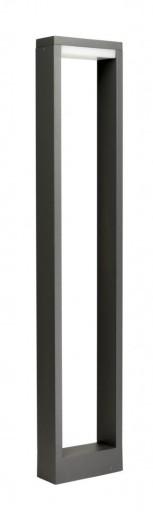 Lampa OGRODOWA stojąca słupek FORM 80cm nowoczesny