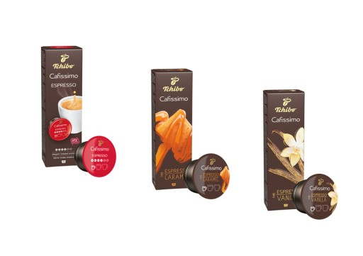 Kapsułki Tchibo Vanilia Karmel Espresso Elegant