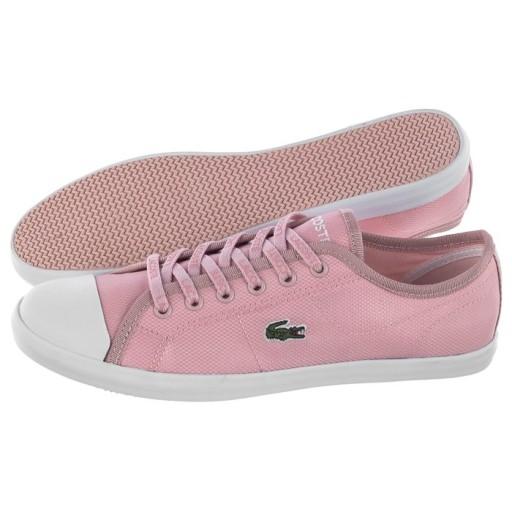 Buty Damskie Trampki Lacoste Ziane Sneaker Różowe