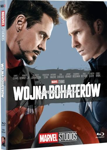Kapitan Ameryka: Wojna bohaterów [Blu-ray]