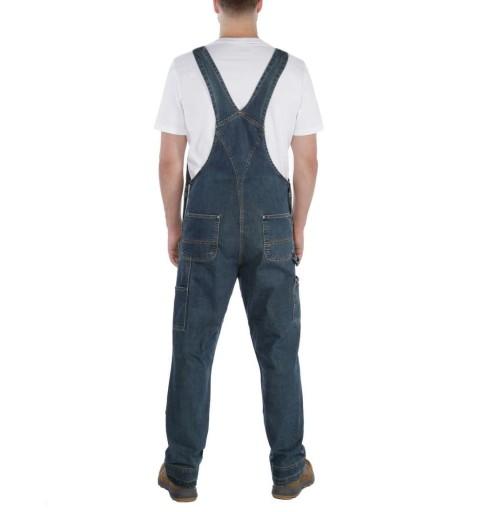 Ogrodniczki Carhartt Denim Bib Overall Blue 38x32 10703482636 Odzież Męska Spodnie UO EPUDUO-6