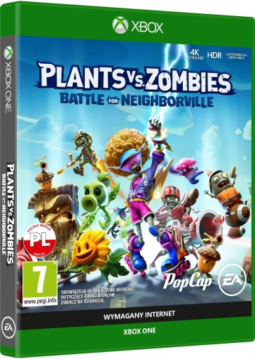 XONE Plants vs. Zombies Battle For Neighborville