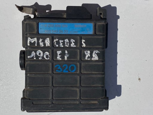 ENGINE CONTROLLER MERCEDES 0280800100 0025453632