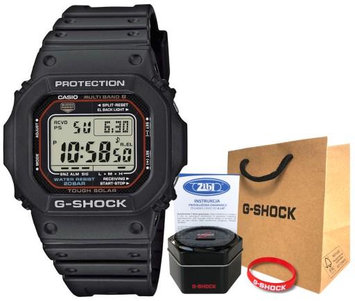 Zegarek Casio G-SHOCK GW-M5610-1ER 20BAR hologram
