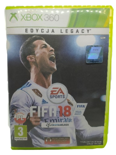 Fifa 18 Xbox 360 Pl Stan Uzywany 9306947249 Allegro Pl