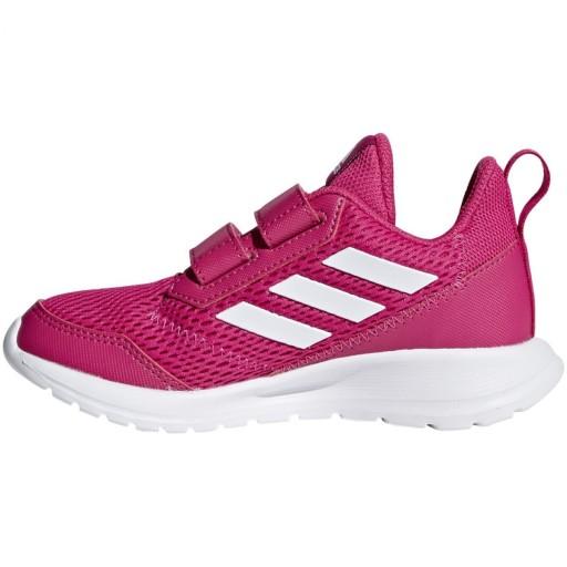 Różowe Buty Buty sportowe dziecięce Adidas r.33