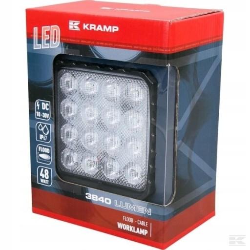 LAMPA HALOGEN ROBOCZY LED 48W 3840 lm KRAMP