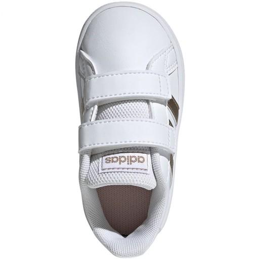 Białe Buty Buty sportowe dziecięce Adidas r.21