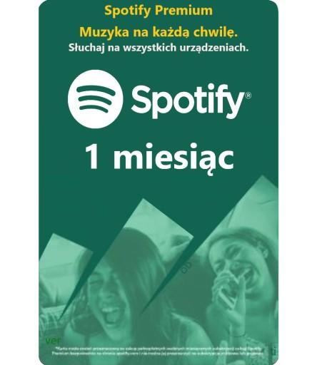Doladowanie Spotify 20zl Karta Premium 30 Dni 7532665951 Allegro Pl