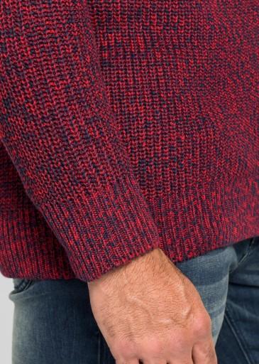 CX3D07 SWETER CARDIGAN ZAMEK STÓJKA__52 10780449980 Odzież Męska Swetry TG ZSDETG-4