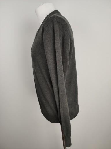 CAMARGUE MĘSKI ROZPINANY SWETER KARDIGAN rozm. L 10781415827 Odzież Męska Swetry ZP BVVLZP-5