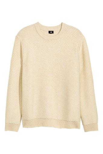 H&M Sweter z domieszką wełny, rozm. M 9814210713 Odzież Męska Swetry NI SMCJNI-5