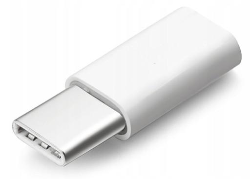 Adapter micro USB do USB-C typ C przejściówka