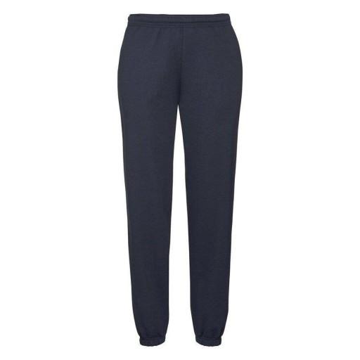 MĘSKIE spodnie dresowe CLASSIC CUFF c.granat L 9639231872 Odzież Męska Spodnie WA AZXGWA-2
