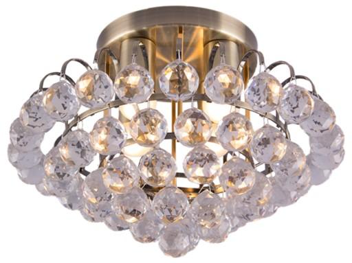 Plafon Lampa sufitowa ELEM 67734 MOSIĄDZ KRYSZTAŁ
