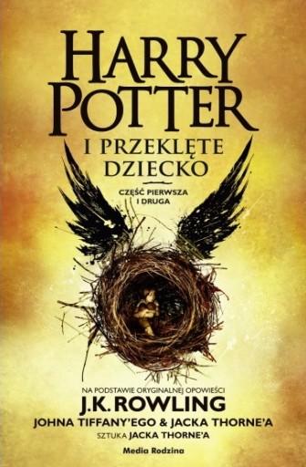 Harry Potter I Przeklete Dziecko Ksiazka 44 90 Zl Allegro Pl Raty 0 Darmowa Dostawa Ze Smart Pamiatkowo Stan Nowy Id Oferty 7634609406