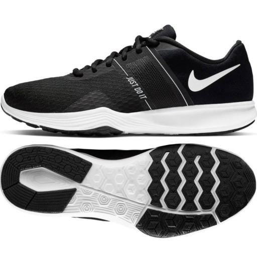 Nike sportowe damskie czarne inny materiał r.35,5