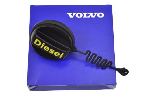 VOLVO S40 V50 korek wlewu paliwa diesel uchwyt OE