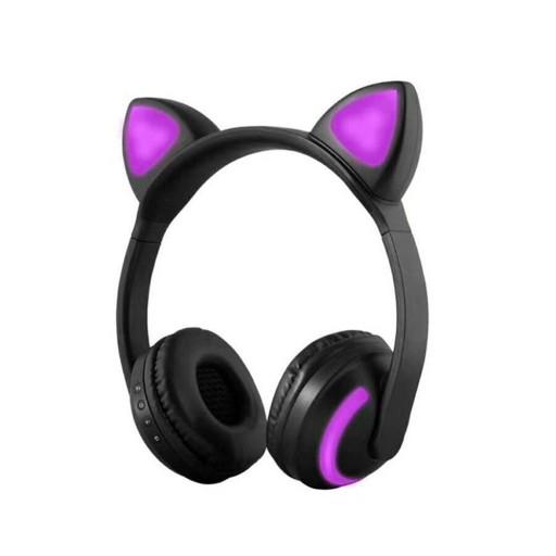 Sluchawki Bezprzewodowe Kocie Uszy Bl 4 2 Led Pc 9478517185 Sklep Internetowy Agd Rtv Telefony Laptopy Allegro Pl