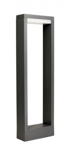 Lampa OGRODOWA stojąca słupek FORM 50cm kwadratowa