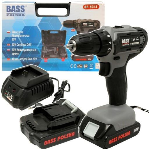 Bass Wkretarka 20v Akumulatorowa 2 2ah 2x Bateria Siedlce Allegro Pl