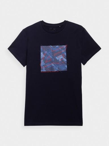 TSHIRT MĘSKI LIMITOWANA KOLEKCJA 4F TSM202 (S-5XL) 10586152198 Odzież Męska T-shirty KI HVBSKI-3