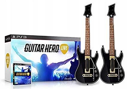 Guitar Hero Live Ps3 2 X Gitara Gra Nowa Impreza Stan Nowy 9347303973 Allegro Pl