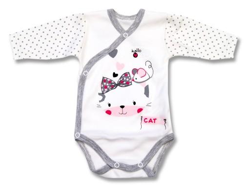 Body Dla Dziewczynki Bawelniane Dla Niemowlat Cat 6990525798 Allegro Pl