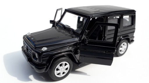 Mercedes-Benz G-Class Czarny Metalowy Model 1:34