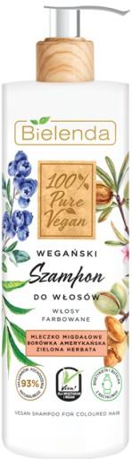 Bielenda Pure Vegan wegański szampon farbowane