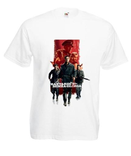 KOSZULKA MĘSKA Bękarty wojny Tarantino WZORY 10699926947 Odzież Męska T-shirty NX QXQLNX-5