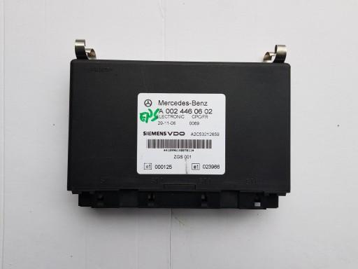 CONTROLLER CPC/FR MERCEDES ACTROS 0024460602