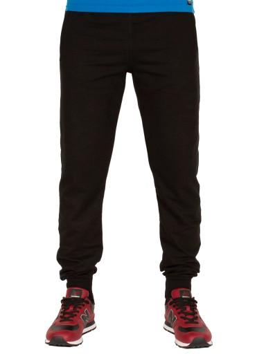 Spodnie męskie dresowe XXL 92cm jogger czarne 2XL 10144979057 Odzież Męska Spodnie NR NWEXNR-6