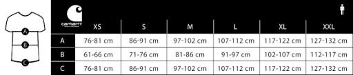 Carhartt WIP S/S Backyard T-Shirt I029064 BLACK M 10183954990 Odzież Męska T-shirty XS LQNAXS-2