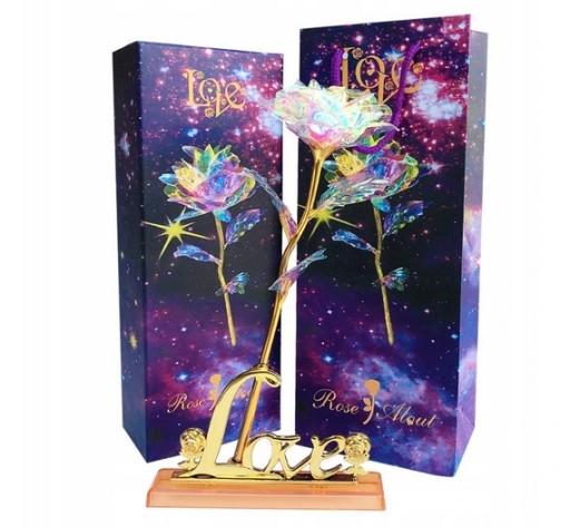 Wieczna Roza W Szkle Czerwona Flower Box Rose Led 9543323791 Allegro Pl