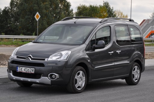Citroen Berlingo II Van Long Facelifting 1.6 HDi 92KM 2014