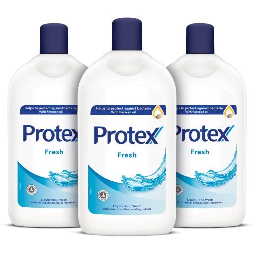 Protex mydło w płynie FRESH ZAPAS 3x700 ml