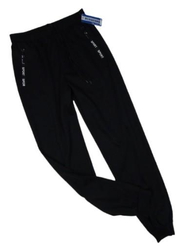 SPODNIE sportowe cienkie DUNAUONE CZARNE.4XL sc. 10763298222 Odzież Męska Spodnie JP NUEAJP-3