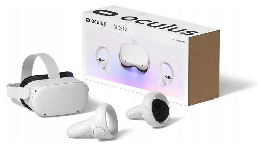 Oculus Quest 2 64GB GOGLE VR OKULARY +2 KONTROLERY