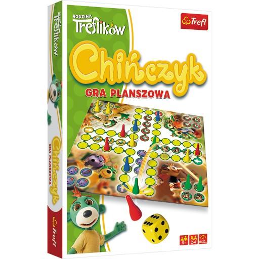 Gra rodzinna Chińczyk - Trefl Trefiki