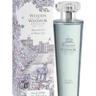 woods of windsor blue orchid & water lily