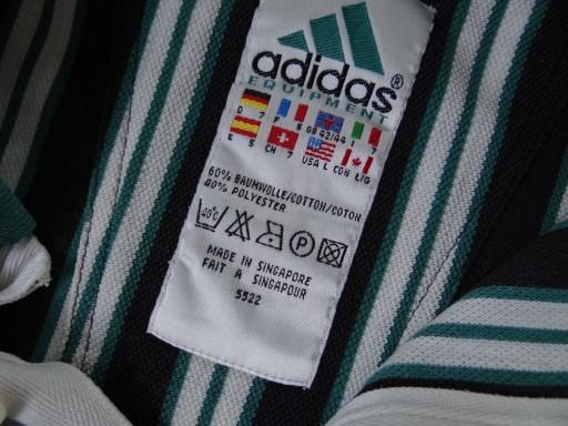 Adidas Equipment Rarytas vintage retro L/XL polo 9460941975 Odzież Męska Koszulki polo DJ MZLRDJ-7
