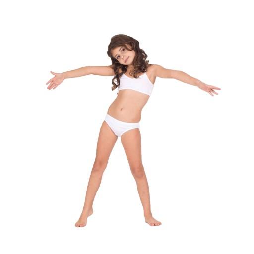 Komplet Bielizny Stanik Majtki Dziewczynka Fig 128 9311599998 Allegro Pl