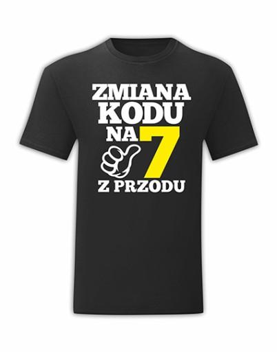 KOSZULKA URODZINOWA NA URODZINY 70 LAT - L 10643065982 Odzież Męska T-shirty JE AWUTJE-5