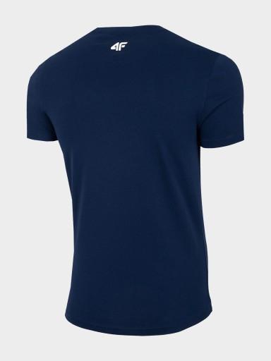 T-SHIRT MĘSKI 4F KOSZULKA TSM021 H4L21 10605012811 Odzież Męska T-shirty NY UEZINY-3