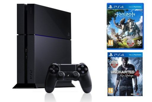 KONSOLA SONY PS4 PLAYSTATION 4 HDR 500GB 2 GRY HIT