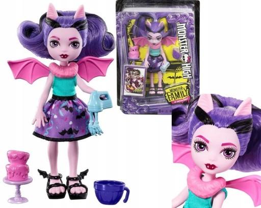 Lalka Monster High Fangelica Mattel Fcv65 Fcv68 9558891519 Allegro Pl
