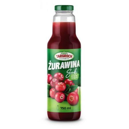 Targroch Sok Z Zurawiny 100 750ml 8501981333 Allegro Pl